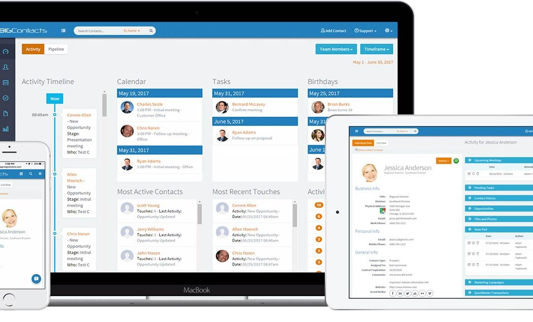 NEW CRM Mobile Edition Works on ANY SmartPhone or Tablet