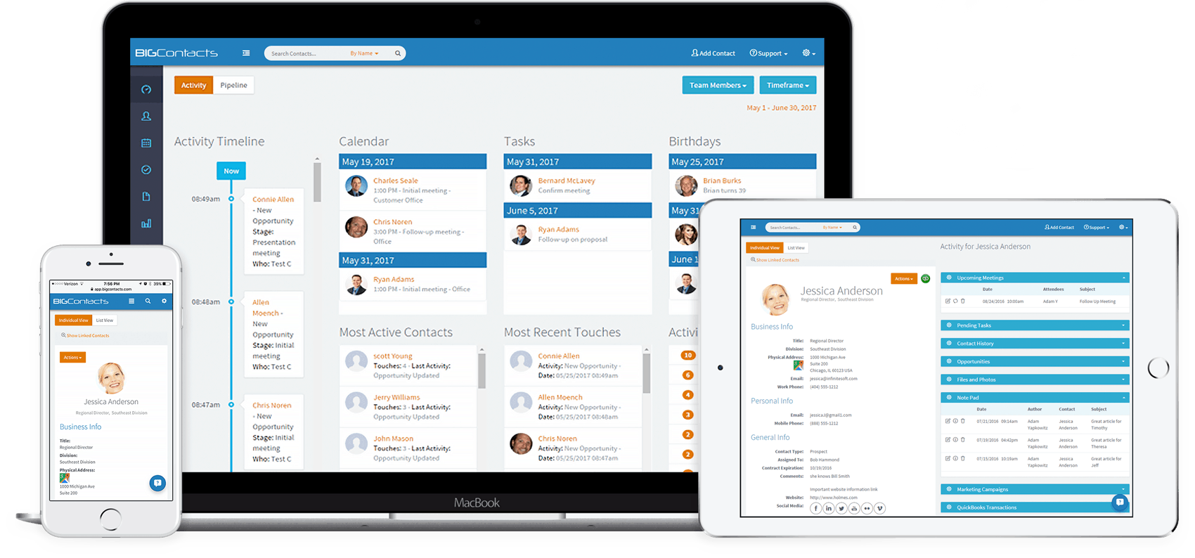 CRM for Small Business | BIGContacts