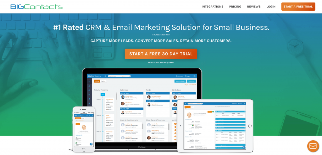 bigcontacts crm